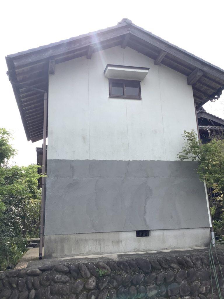 土蔵なまこ壁(工事中)